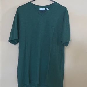 Men's Lacoste Forest Green Tee XL